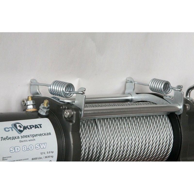 Тросоукладчик для всех типов автомобильных лебедок СТОКРАТ кроме STO HD 18.5 WP
