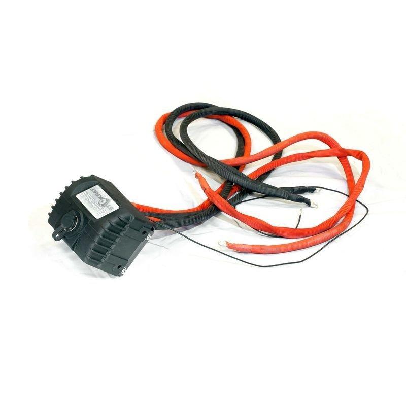 Блок соленоидов (контакторов) в сборе для лебедок СТОКРАТ  HD 12.5 WP24, HD 9.5 WP24, SD 12.5 SW24, SD 9.5 SW24 24V 400A (новая цоколевка пульта)