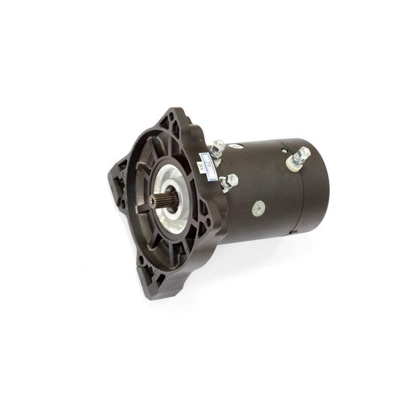 Запасной электромотор в сборе с боковиной для лебедки  СТОКРАТ HD 9.5 WP24