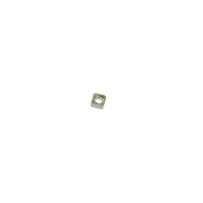 Стальная квадратная закладная гайка М10 крепления лебедок серий SD, HD, HS к автомобилю.
