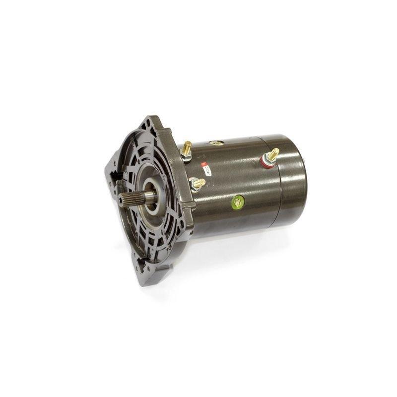Запасной электромотор в сборе с боковиной для лебедки  СТОКРАТ SD 9.5 SW24
