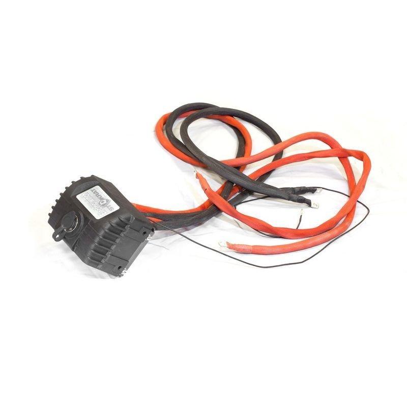 Блок соленоидов (контакторов) в сборе для лебедок СТОКРАТ SD 8.0 PW, SD 6.0 PSW 12V 400A (новая цоколевка пульта)