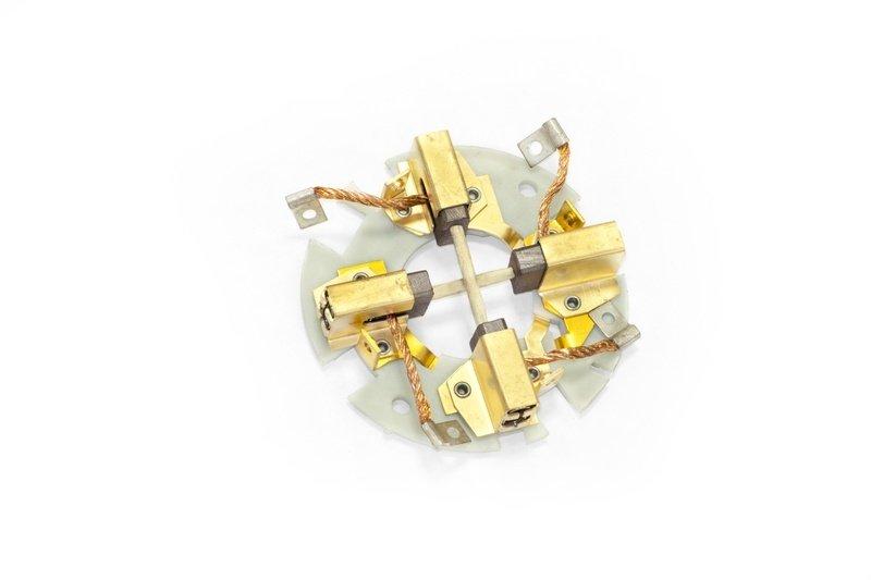 Щеточный узел в сборе для электромоторов лебедок СТОКРАТ серий HD и HS