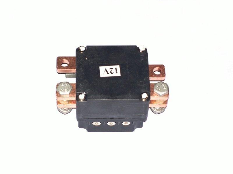 Соленоид (контактор) нового образца для автомобильных лебедок СТОКРАТ 12V 500A
