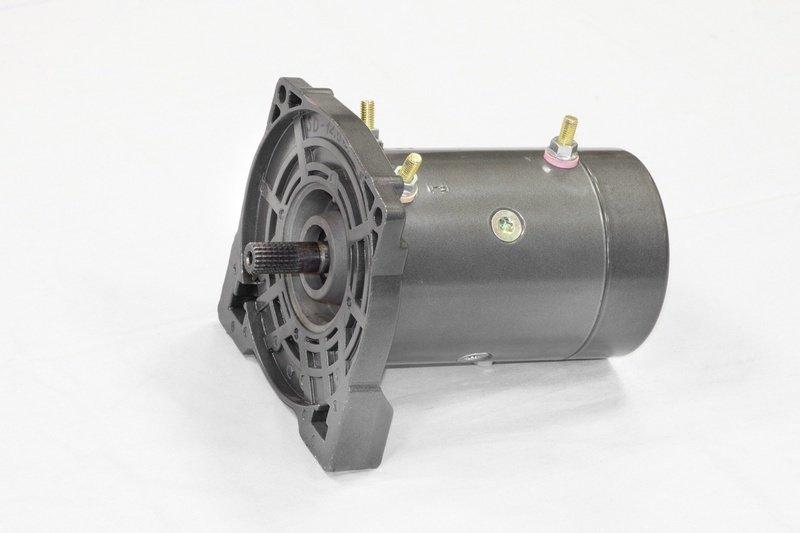 Запасной электромотор в сборе с боковиной для лебедки  СТОКРАТ SD 9.5 SW