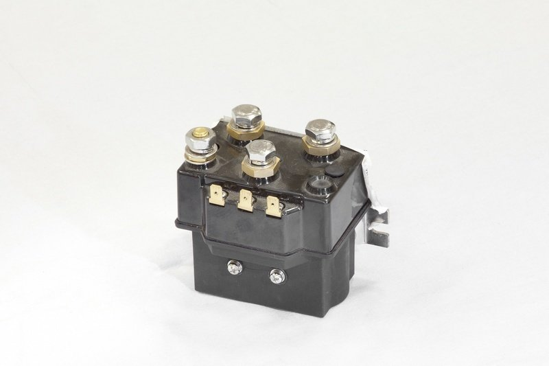 Соленоид (контактор) для автомобильных лебедок СТОКРАТ 12V 400A