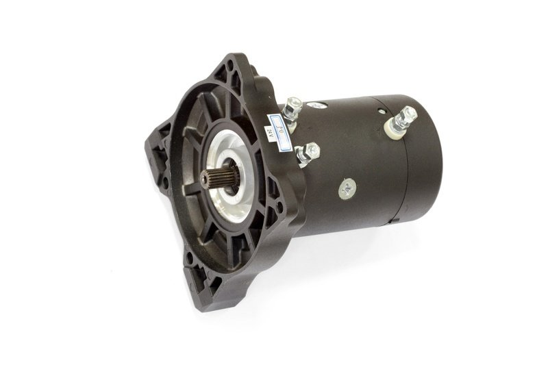 Запасной электромотор 6.8 л.с. для лебедки  СТОКРАТ HD 12.5, 15.5, 18.5 WP / HS 8.8 (12 В)