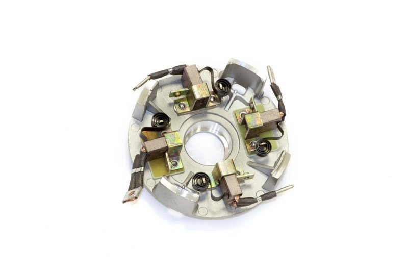 Щеточный узел в сборе для электромоторов лебедок СТОКРАТ серии SD 9.5 и SD 12.5