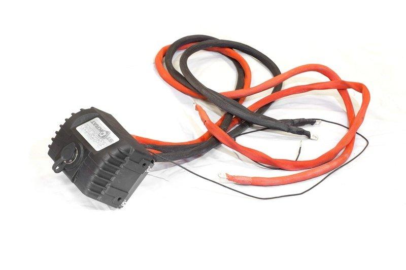Блок соленоидов (контакторов) в сборе для лебедок СТОКРАТ серий LD и SD, 12V, 400A (новая цоколевка пульта)
