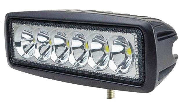 Светодиодная (LED) фара дальнего света РИФ 18W SM-6180P