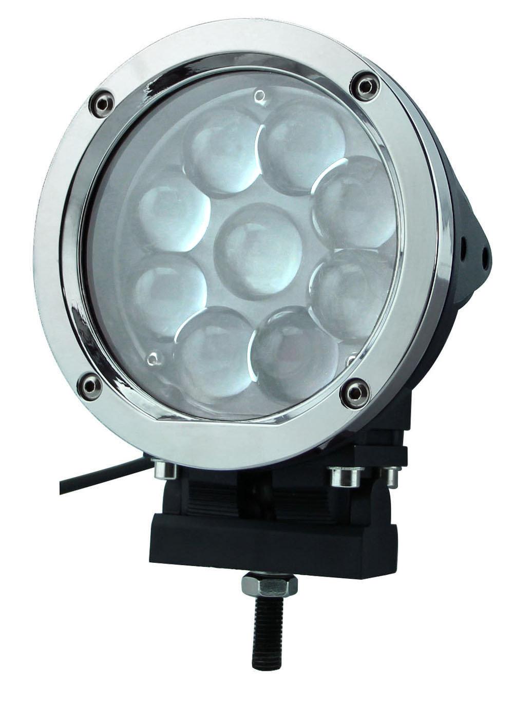 Светодиодная (LED) фара дальнего света РИФ 45W SM-5450P