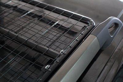 Силовой багажник на штатные рейлинги Nissan Pathfinder