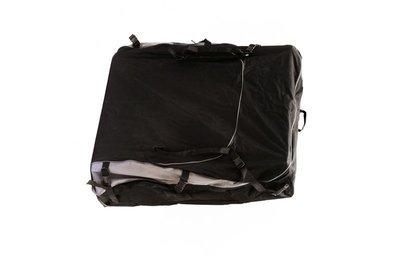 Сумка-чехол из синтетической ткани для защиты поклажи на верхнем багажнике (125x115x25см) Стократ