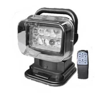Светодиодная (LED) фара-искатель дальнего света на радиоуправлении 50W SM-2009