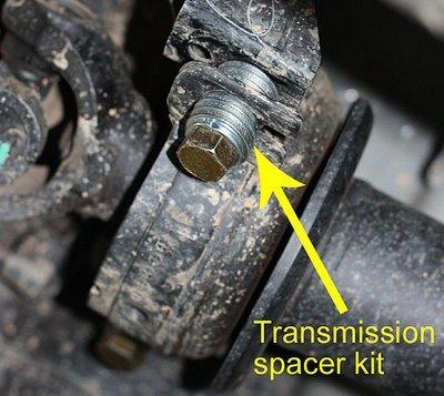 Комплект для переноса карданного вала Ford Ranger 2012+