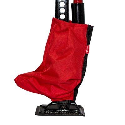 Чехол на молнии для механизма реечного домкрата PRO-4x4 (красный)
