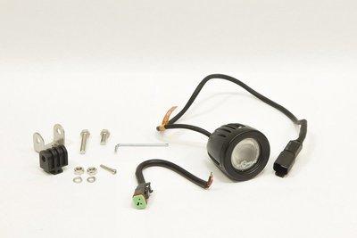 Фара дополнительная светодиодная круглая рабочего света 10 Вт, 90 градусов. (СТОКРАТ)