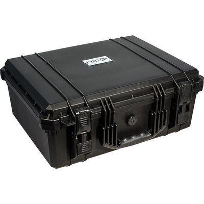 Кейс №5 противоударный PRO-4x4 ЧЕРНЫЙ (508x394x205мм)