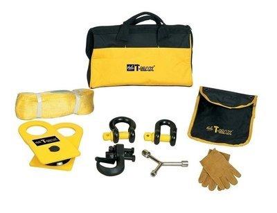 Набор аксессуаров T-MAX (блок, шаклы, стропа, крюк, перчатки) T-MAX
