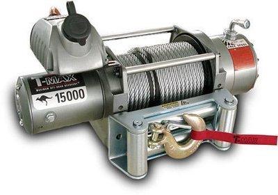 Лебедка автомобильная электрическая T-MAX EW-15000 OUTBACK 12В
