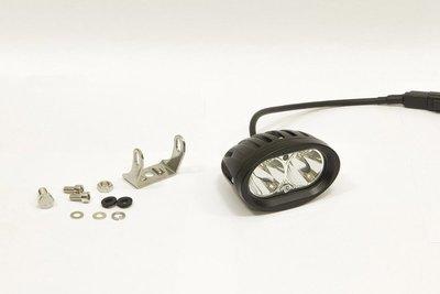 Фара дополнительная светодиодная овальная направленного света 20 Вт, 30 градусов. (СТОКРАТ)