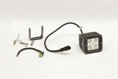 Фара дополнительная светодиодная прямоугольная рабочего света 12 Вт, 45 градусов. (СТОКРАТ)