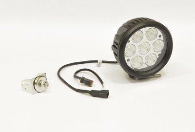 Фара дополнительная светодиодная круглая направленного света 70 Вт, 30 градусов. (СТОКРАТ)