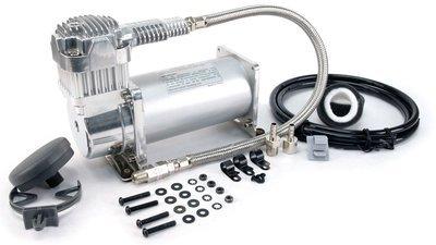 Автомобильный компрессор стационарный 12v viair 400c хром 40040v