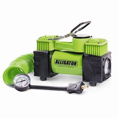 Двухпоршневой компрессор автомобильный Alligator Al-500