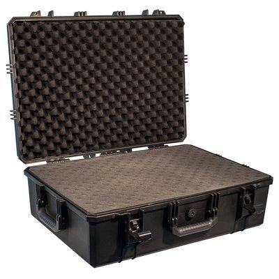 Кейс №8 противоударный PRO-4x4 ЧЕРНЫЙ (720x515x245мм) с поропластом
