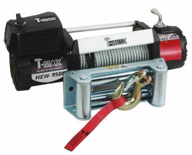 Лебедка автомобильная электрическая T-MAX HEW-9500 X-Power