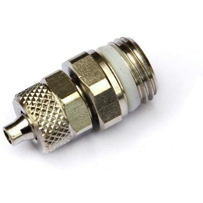 Соединение 6/4-1/4 Camozzi под гибкую трубку с упл.кольцом