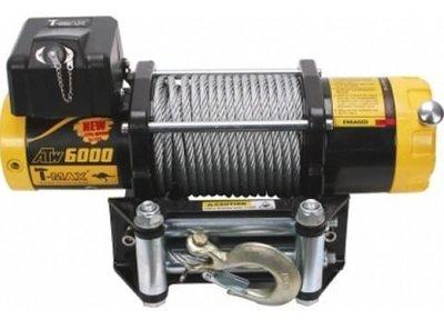 Лебедка автомобильная электрическая T-MAX ATW-6000 OFF-ROAD Improved 12В