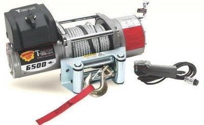Лебедка автомобильная электрическая T-MAX EW-6500 OFF-ROAD Improved 12В