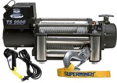 Лебедка электрическая Tigershark 9500 (12В) (клюз чугунный)