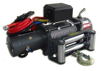 Лебёдка электрическая высокоскоростная 12V Runva 9500 lbs 4309кг