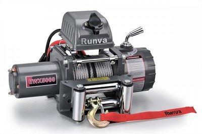 Лебёдка электрическая 12V Runva 5000  lbs 2268 кг