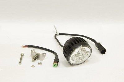 Фара дополнительная светодиодная круглая рабочего света 12 Вт, 60 градусов. (СТОКРАТ)