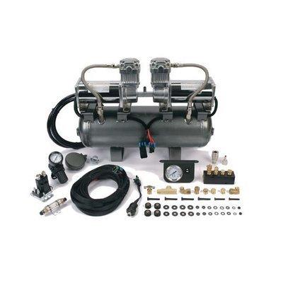 Ресивер 7,5 л в сборе с 2-мя компрессорами 380С 55%