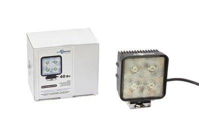 Фара дополнительная светодиодная квадратная направленного света 40 Вт, 25 градусов. (СТОКРАТ)