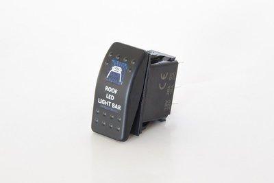 Клавишный выключатель с надписью ROOF LED LIGHT BAR Стократ