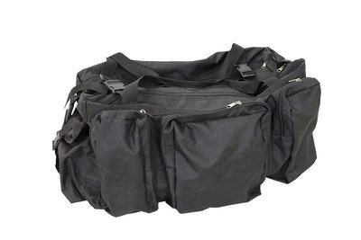 Сумка - офицерская 100л, цвет-чёрная, Oxford PU 600