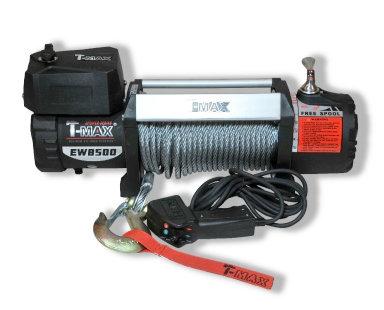 Лебедка автомобильная электрическая T-MAX HEW-8500 X-Power
