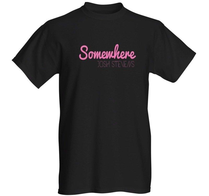 Somewhere - T-shirt - Black