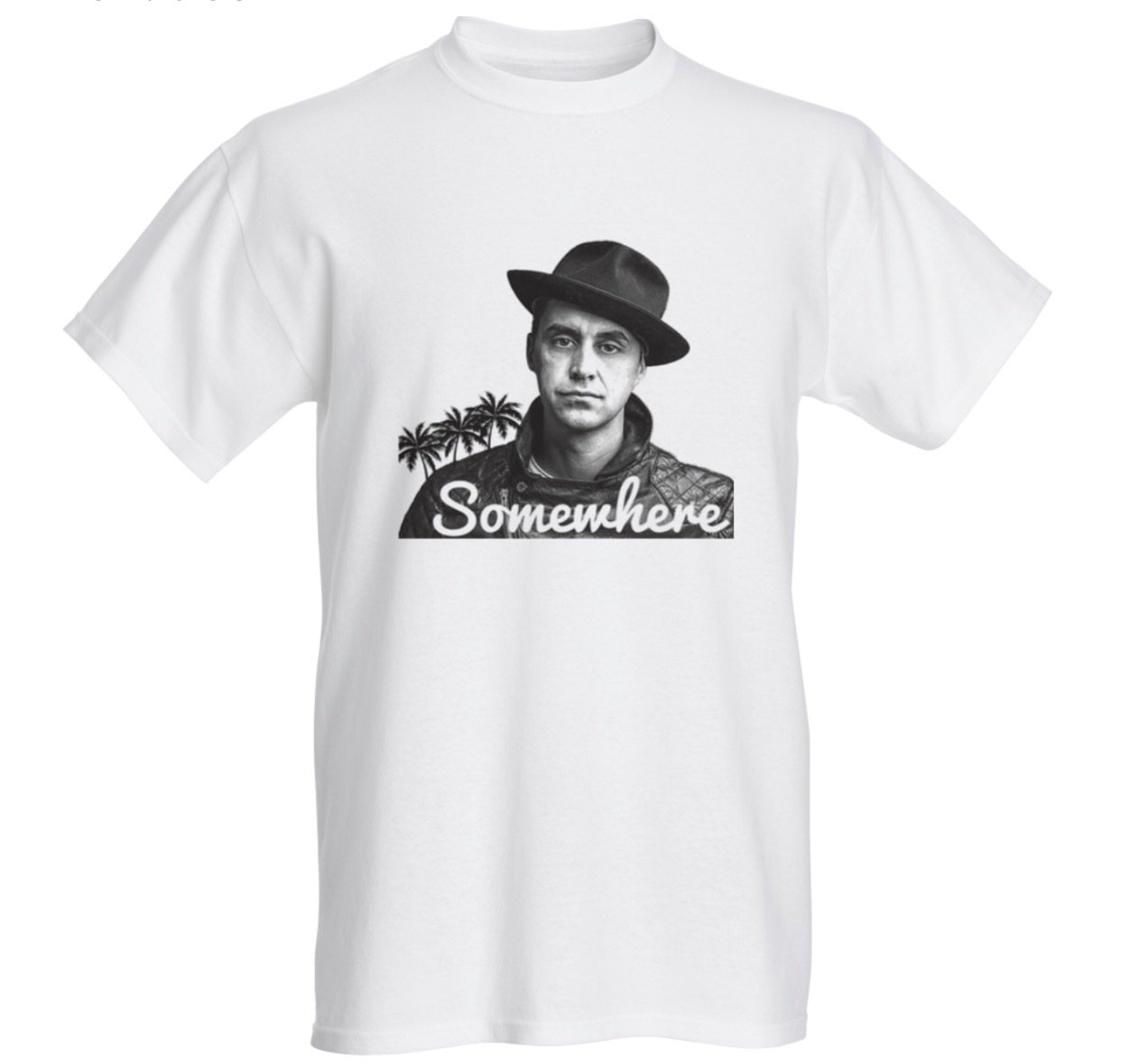 "Somewhere ""Josh Stevens"" - T-shirt"