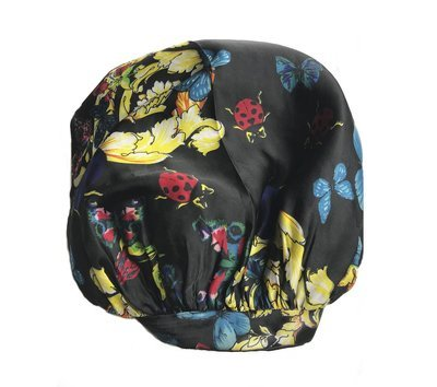 Adjustable Double-lined SATIN SILK HAIR BONNET