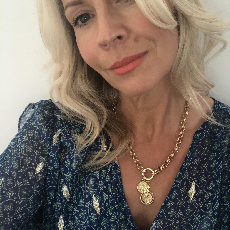 Cornelia Belcher Charm Necklace