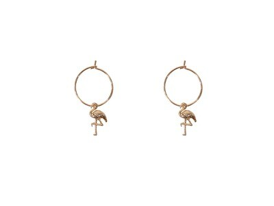 Dora Flamingo Mini Hoops
