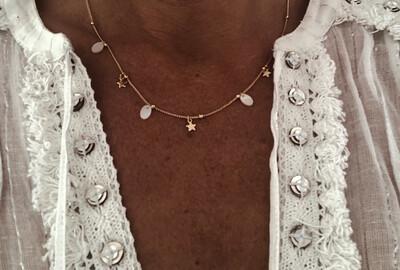 Emilia Star Charm Necklace