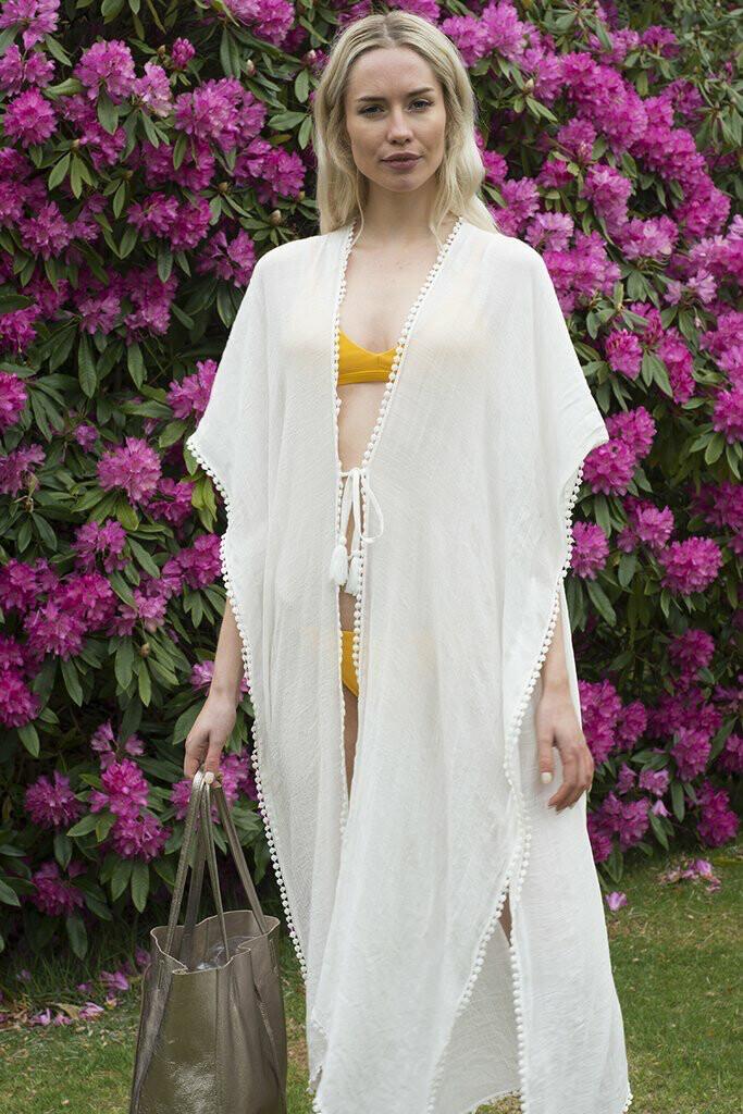 Margaux Kimono White